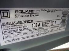 Square D 50006-388-03C Nema Sz. 3 Type S Comb. Motor Controller 100A Type 1- NEW
