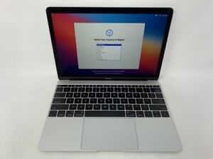 MacBook 12 Silver Early 2015 1.1GHz M 8GB 256GB SSD - Very Good Condition - READ