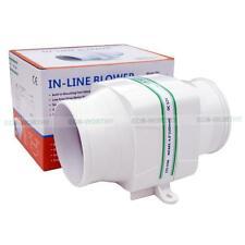 """Marine in Line Blower Fan 3"""" Hose 12v Exhaust Ventilation 2.5amp 130cfm VV"""