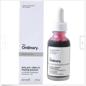The Ordinary Peeling Solution AHA 30% + BHA 2% Primer Makeup 10-Minute