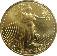 1995 American Gold Eagle 1/2 oz Ounce $25 BU Coin