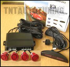 Kit 4 Sensores de Aparcamiento Rojo Parktronic Radar Parking Universal