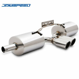 Cat Back Exhaust System Back Box For Porsche Boxster 986 2.5 2.7 3.2 Stainless