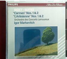 """Bizet - Suites CD """"Carmen"""" et """"L'Arlésienne"""" - Markevitch - Germany (EX+/E"""