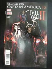 Marvel Comics: CAPTAIN AMERICA: SAM WILSON #12 OCTOBER 2016 CW2 # 15G92