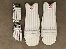 Gray Nicholls Powerbox Pads And Gloves RH Boys