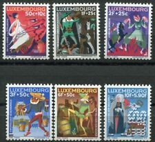 Luxemburg 717 - 722 postfrisch, Caritas