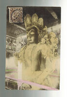 1907 Pekin China Real Picture Postcard Cover Grand Buddha in Lunar Temple
