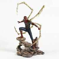 Spiderman Statue PVC Action Figure Avengers Infinity War 18cm
