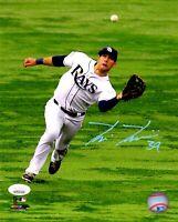 Kevin Kiermaier autographed signed 8x10 photo MLB Tampa Bay Rays JSA COA
