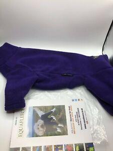 Equafleece Dog suit Dark Purple Size 18-20 SLIM - Worn Once for 10 minutes