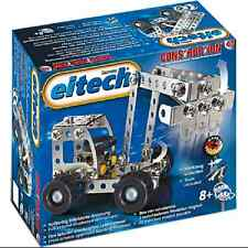 Digger and Truck Metal Construction Building Toy Eitech C68