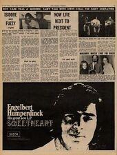 Engelbert Humperdinck Sweetheart UK LP Advert 1971
