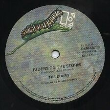 """THE DOORS   Rare 1971 Australian Only 7"""" OOP Rock Single """"Riders On The Storm"""""""