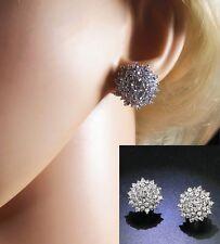 Sparkly,  Austrian Crystal Clip On Earrings  (NB085)