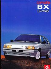 1991 Citroen BX Calanque Edition Original French Car Sales Brochure