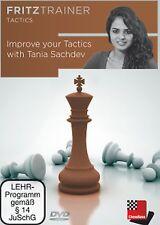 ChessBase Sachdev - Improve Your Tactics - Schach FritzTrainer Taktik NEU / OVP