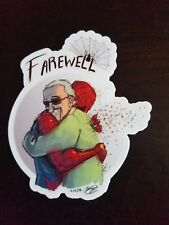 Stan Lee Decal/Sticker R.I.P. 1922-2018 Marvel Spider-Man skateboard locker
