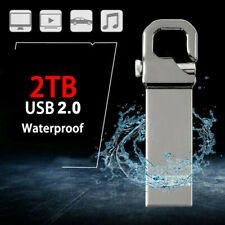 2TB Memory Stick Pen Metal USB 3.0 Flash Drive drive Sliver U Disk for PC Laptop