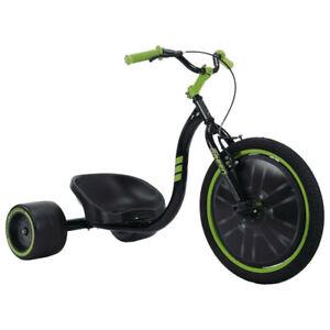"Huffy Green Machine 20""/50cm Kids 8y+ Slider/Drifting Bike Tricycle w/Hand Brake"