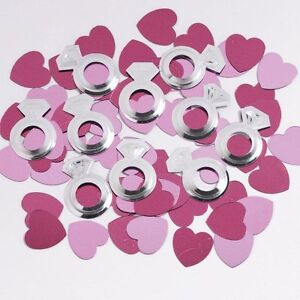 Diamond Ring Confetti, Bridal Shower, Bachelorette Party, Diva Birthday Decor PK