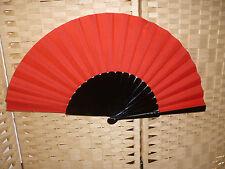 Flamenco Tanzfächer Handfächer  Fächer  in rot  schwarz