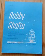 Bobby Shafto - arranged for Unison Chorus and Orchestra by Eric Wedd