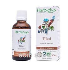 HERBIOLYS Macérat de bourgeon de Tilleul BIO 50 ml complément alimentaire /U24