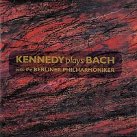 NIGEL KENNEDY PLAYS BACH WITH THE BERLINER PHILHARMONIKER / CD - TOP-ZUSTAND
