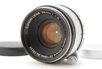 """""""EXC+++++"""" CANON 35mm f/1.8 1:1.8 Lens L39 LEICA SCREW Mount From JAPAN"""