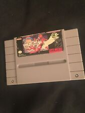 Bill Laimbeer Combat Basketball (Super Nintendo, 1991) SNES GAME! Classic cart!