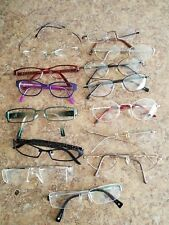 Lot Of Eyeglasses Some Designer Jhanes Barnes, Silhoutte, Galllery Used Nice