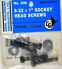 Carl Goldberg 526 8-32 x 1 Socket Head Screws GBG526