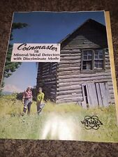 White's Coinmaster TR-Mineral Metal Detectors Instruction Book 1977