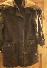 Girls hooded winter coat age 9-10