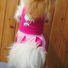 Pet Summer Dress for Dog Pet Clothes Puppy Spring Cotton Mini Skirt Supplies HZ