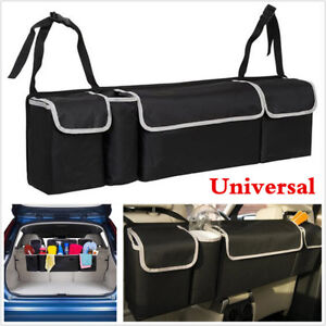 1PCS Car Back Seat Trunk Storage Bag Organizer Pocket High Capacity Multi-use