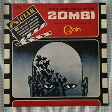 1980 Goblin Zombi Dawn of the Dead LP soundtrack Dario Argento George Romero ITA