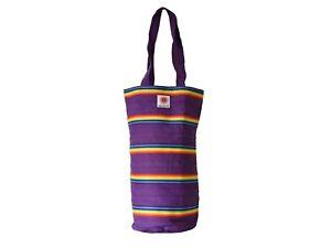Stripey Cotton Chakra Bag