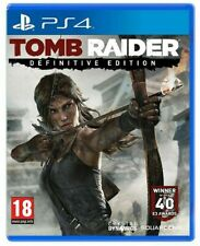 TOMB RAIDER DEFINITIVE EDITION PS4 VIDEOGIOCO ITALIANO GIOCO PLAYSTATION 4 NUOVO