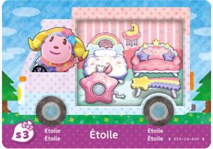 Etoile Sanrio NFC Amiibo Card Animal Crossing