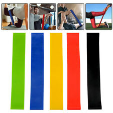 5pcs Fitness Physical Therapy Exercise Resistance Loop Bands Stretch Strength