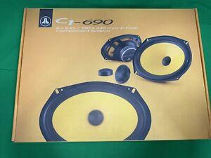 JL Audio C1-6906 x 9-inch (150 x 230 mm) 2-Way Component Speaker System