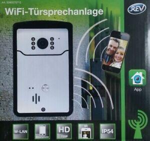 REV WIFI-Türsprechanlage HD 720P W-LAN Sprechanlage IP54