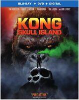 Kong: Skull Island [New Blu-ray] With DVD, UV/HD Digital Copy, 2 Pack