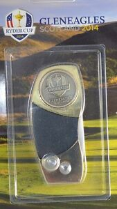 2014 RYDER CUP (GLENEAGLES) DIVOT TOOL w/Removable BALL MARK