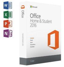 MS Microsoft Office Home and Student 2016 / Für Windows / Original Key /via Ebay