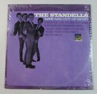 """The Standells LP """"Live"""" And Out Of Sight 1966 Sunset Records SUS-5136"""