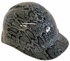 Hard Hat Light Grey Snakeskin w/ Free BRB Customs T-Shirt
