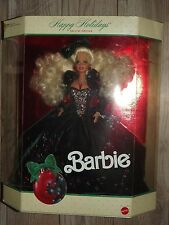 1991 MATTEL BARBIE 1871 HAPPY HOLIDAYS SPECIAL EDITION MINT IN OPEN BOX
